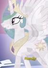 Princess Celestia Crystal Pony ID S6E2