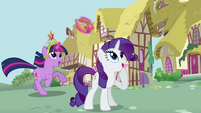 Rarity teary smile S03E13