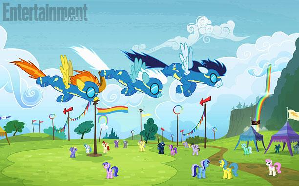 File:Wonderbolts flying promotional S4E10.jpg