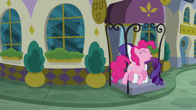 File:Pinkie follows Rarity into the restaurant S6E12.png