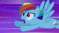 "Rainbow Dash ""what the?!"" S5E13"