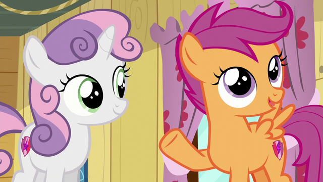 "File:Scootaloo ""I'm sure we'll come across them in Ponyville"" S6E4.png"