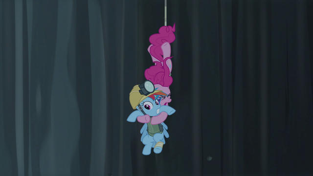 File:Pinkie Pie grabs Rainbow in midair S5E8.png