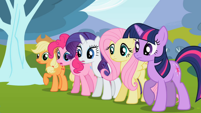 File:Ponies looking anxious S2E7.png
