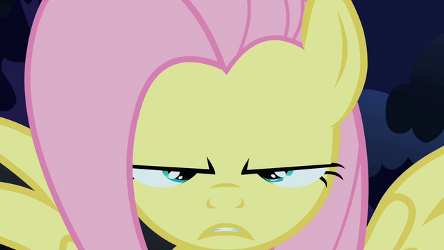 File:Fluttershy about to do the stare S1E17.png