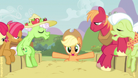Applejack perfect shot S3E8