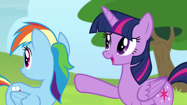 "File:Twilight ""they're too busy practicing"" S4E10.png"