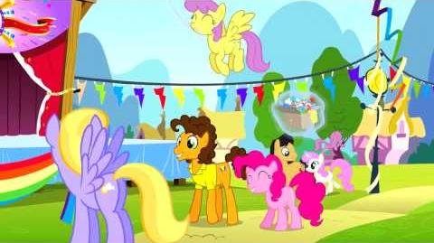 Italian My Little Pony Pinkie The Party Planner Song - Reprise HD