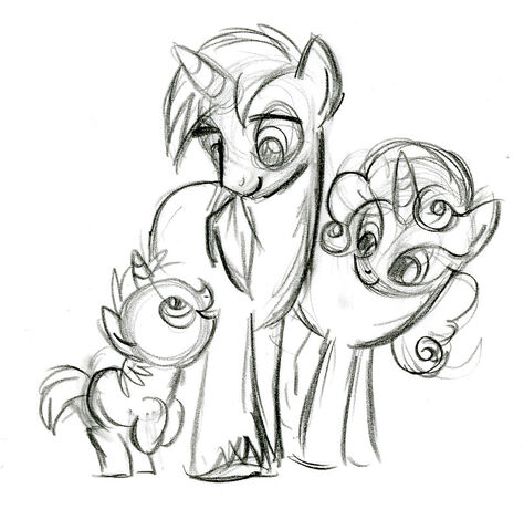 File:Unicorn Family Sketch.jpg