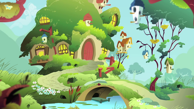 File:Fluttershy's cottage S4E07.png