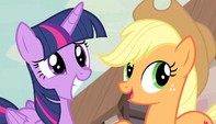 "Applejack ""that there's the Princess of Friendship!"" S5E1"
