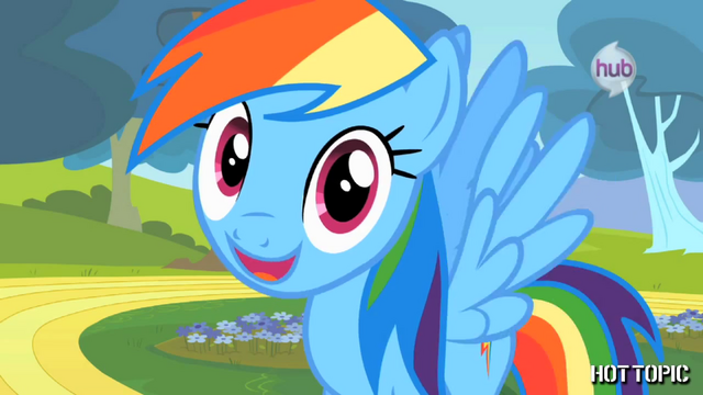 "File:Hot Minute with Rainbow Dash ""this is my Hot Minute"".png"
