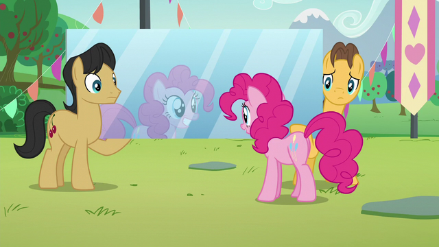 File:Pinkie staring at a mirror carried by Cherry Fizzy and Caramel S5E24.png