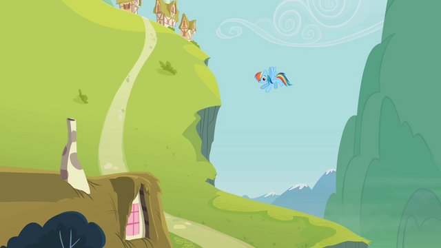 File:Rainbow Dash and the hill S2E08.png