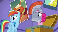 Rainbow and Pinkie hears Fluttershy S5E19
