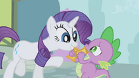 "Rarity ""are these what I think they are?"" S1E03"