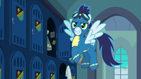 "Soarin ""right, boss!"" S6E7"