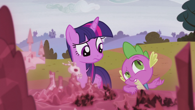 "File:Spike ""there's the whole missing castle thing"" S5E25.png"