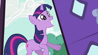 Twilight Sparkle's eye sparkling S2E03