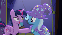 "Twilight ""I could never have pulled off a trick like that"" S6E6"