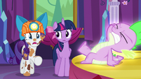 "Rarity ""...dragons!"" S6E5"
