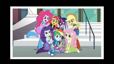 Right There in Front of Me (Arabic version) - MLP Equestria Girls Friendship Games