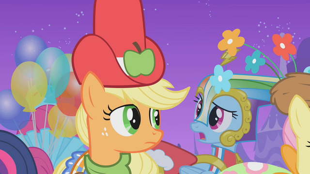 File:The ponies start to think their custom made dresses are hideous S1E14.png