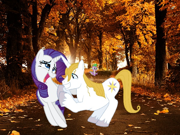 File:FANMADE Rarity with Prince bluebood.jpg
