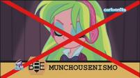 Friendship Games Lemon Zest misspells 'Munchausenism' - Italian