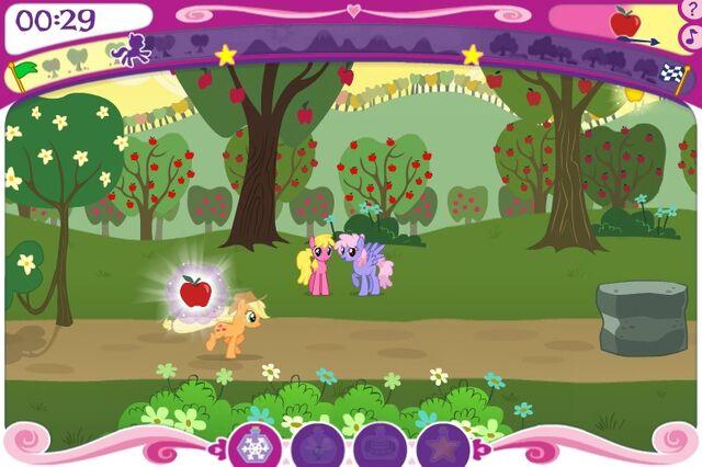 File:RiM Earth pony race Cherry Berry and Rainbowshine.jpg