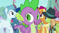 "Spike ""as long as they think it came from Twilight"" S5E10"