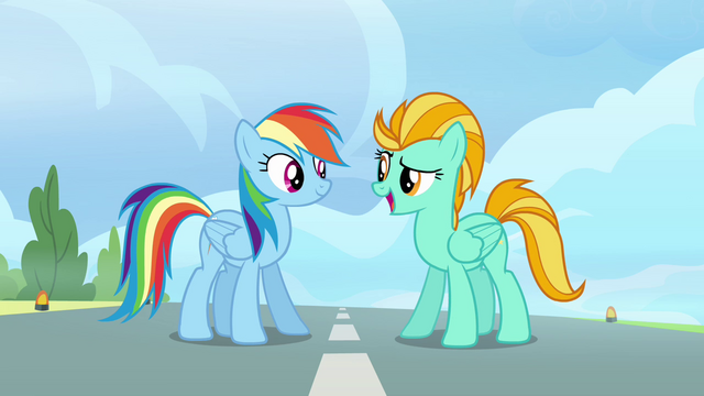 File:Lightning tells Rainbow her name S3E07.png