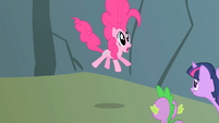 Pinkie Pie starting to freak out S1E15
