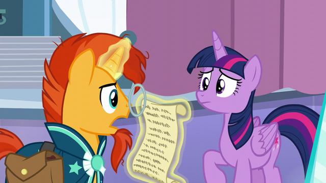 """File:Sunburst """"The Spell of Relic Reconstitution"""" S6E2.png"""
