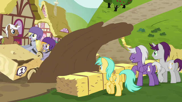 File:Derpy's cart kicks up mud puddle S6E14.png