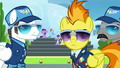 Spitfire and instructors looking at Sky and Vapor S6E24.png