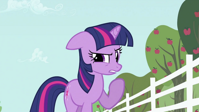 "File:Twilight Sparkle ""Must be angry"" S2E03.png"