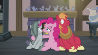 "Pinkie Pie ""wish Big Mac a happy Hearth's Warming"" S5E20"