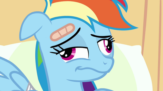 File:Rainbow Dash wakes up S2E16.png