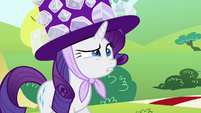 Rarity embarrassed S4E18