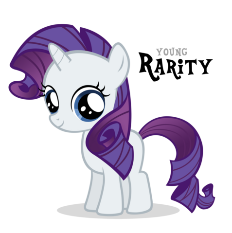 File:FANMADE Young Rarity.png