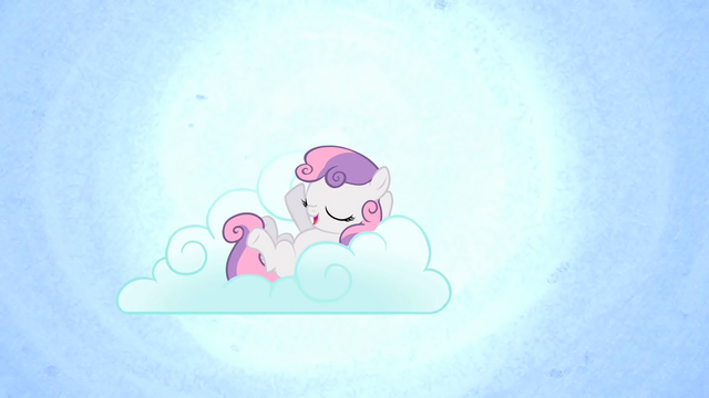File:Sweetie Belle on a cloud S1E17.png