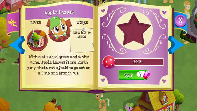 File:Apple Leaves album page MLP mobile game.png