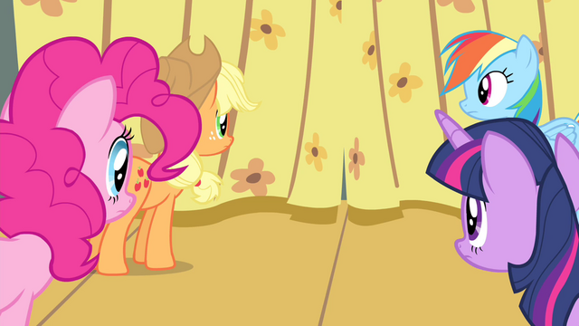 File:Twilight and friends looking at curtain S4E14.png