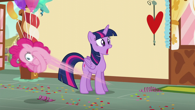 File:Twilight in shock while Pinkie bounces around the room S5E19.png