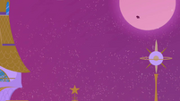 Princess Luna flying in from the moon S02E25
