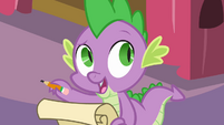 Spike 'The Celebration isn't until the day after tomorrow' S4E01