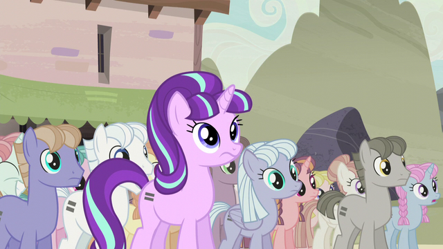 File:Starlight hears Fluttershy's outburst S5E2.png