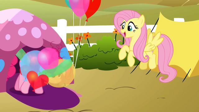 File:Pinkie Pie coming out of tent S2E15.png