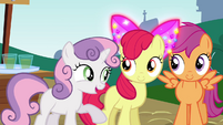 "Sweetie Belle ""look who's inviting who"" S4E15"